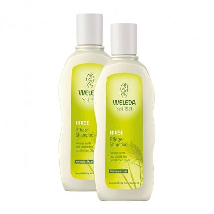 Weleda Hirse Pflege-Shampoo Doppelpack