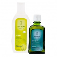 Weleda vitalisierendes Haarpflege-Set