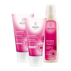 Weleda Wild Rose Care Set