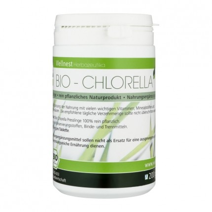 Wellnest Chlorella Algen Bio, Tabletten