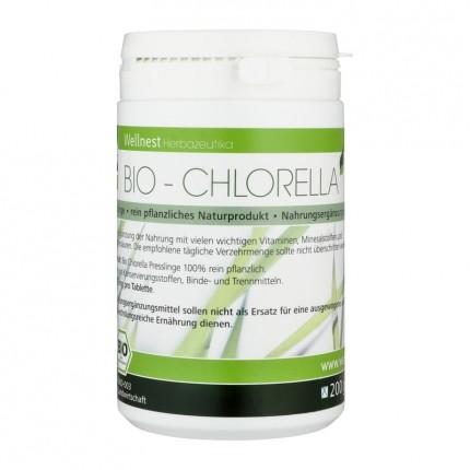 Ekologiska Chlorella-alger, tabletter