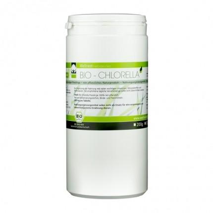 Wellnest Ekologisk Chlorella Vulgaris, tabletter