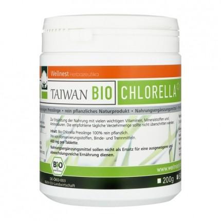 Taiwan Bio Chlorella pyrenoidosa, Tabletten