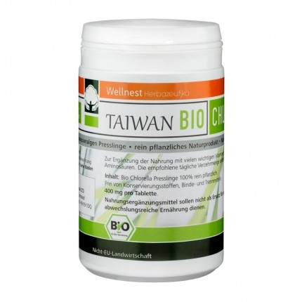 Wellnest Ekologisk Chlorella Pyrenoidosa, tabletter