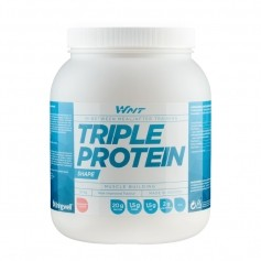 WNT Triple Protein 1,0 kg Jordgubb