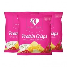 Women's Best Protein Chips, Sweet Chilli-Sour Cream