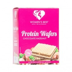 Women's Best Protein Wafers, Schokolade-Haselnuss