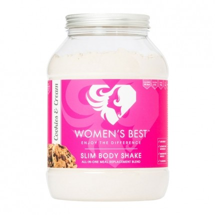 Women's Best SLIM BODY SHAKE, Cookies and Cream