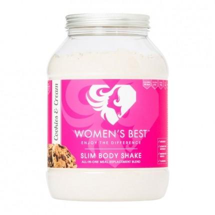 Women's Best SLIM BODY SHAKE, Cookies and Cream