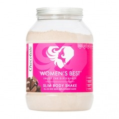 Women's Best SLIM BODY SHAKE, Schokolade