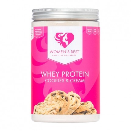 Women´s Best Whey Protein, Cookies-Cream, Pulver (500 g)