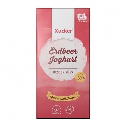 Xucker Weißolade, Erdbeer-Joghurt