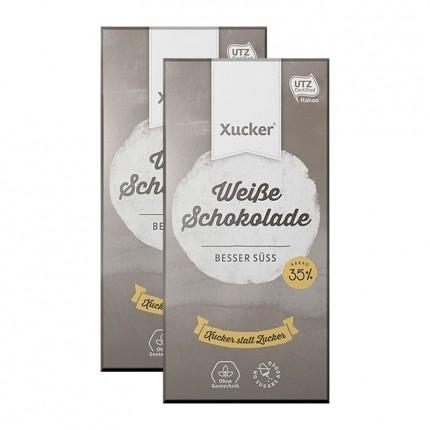 2 x Xucker Weißolade, Tafelschokolade