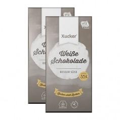 2 x Xucker Weissolade, Tafelschokolade