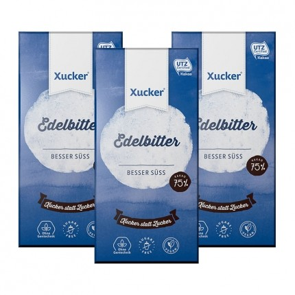 Xucker Edelbitter-Xukkolade, Tafelschokolade