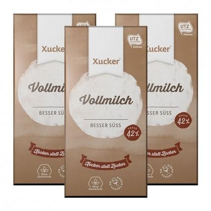 Xucker Vollmich-Xukkolade, Tafelschokolade