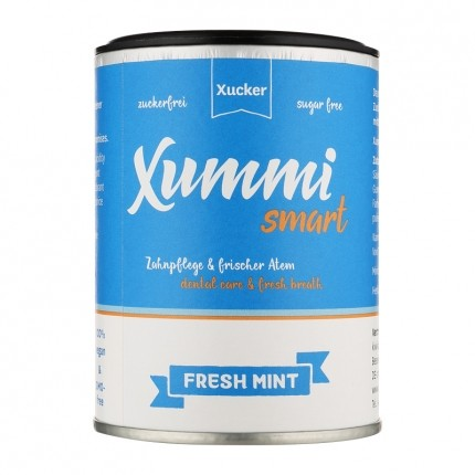 Xucker Xummi smart Zahnpflegekaugummis, fresh mint