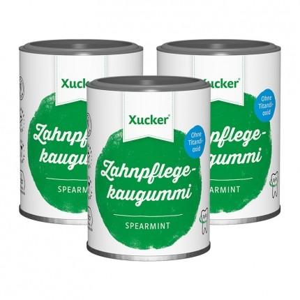 Xucker Xummi Xylit-Kaugummis, Spearmint