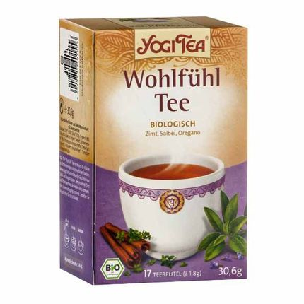 Yogi Tea Wohlfühl Tee, Filterbeutel