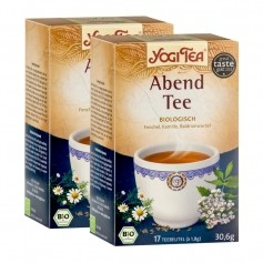 Yogi Tea Abend Tee Bio, Filterbeutel Doppelpack
