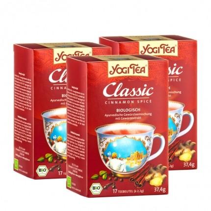 3 x Yogi Tea Classic Bio