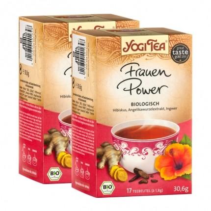 Yogi Tea Frauen Power, Filterbeutel Doppelpack