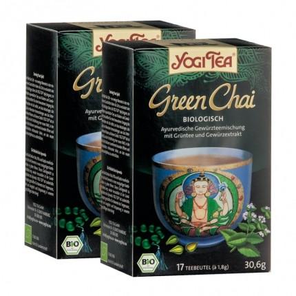 Yogi Tea Green Chai Bio, Filterbeutel Doppelpack