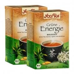 Yogi Tea Grüne Energie, Filterbeutel Doppelpack