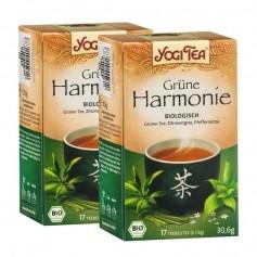 Yogi Tea Grüne Harmonie, Filterbeutel Doppelpack
