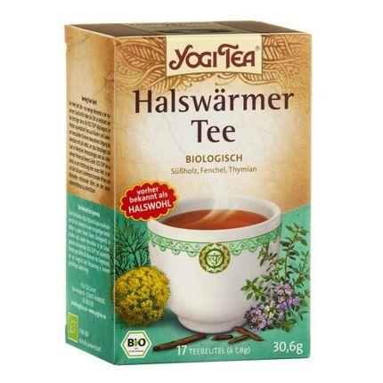 Yogi Tea Halswärmer, Filterbeutel Doppelpack