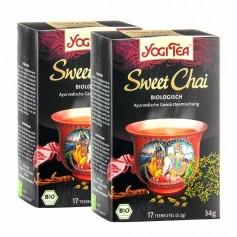 Yogi Tea Sweet Chai Bio, Filterbeutel Doppelpack