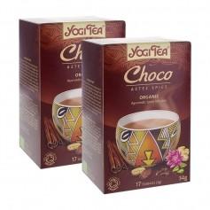 2x Yogi Tea Choco, filterpåsar