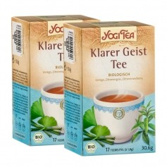 2 x Yogi Tea Clear Mind, filterposer