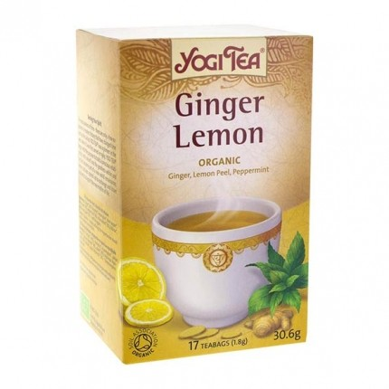 2 x Yogi Tea Ginger Lemon