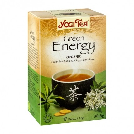 2 x Yogi Tea Green Energy