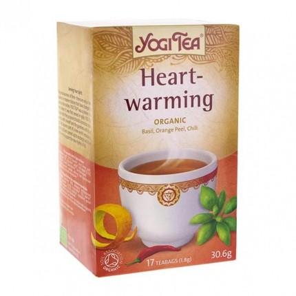 2 x Yogi Tea Heartwarming-tee, luomu