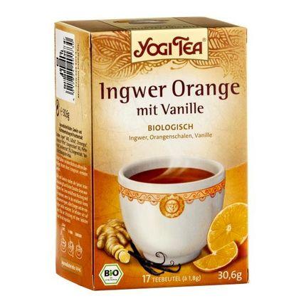 Yogi Tea Ingefær Appelsin med Vanilje, filterpose