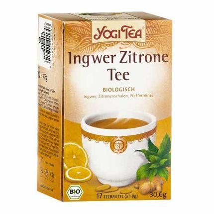 Yogi Tea Ingefær Sitron Bio, Filterpose