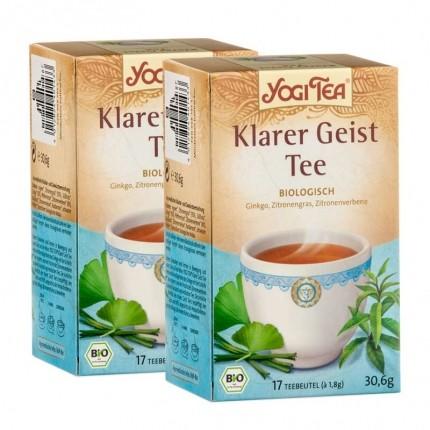 Yogi Tea Bio Klarer Geist (2 x 17 Beutel)