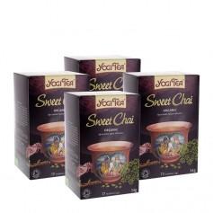 Yogi Tea, Sweet Chaï, sachets, lot de 2