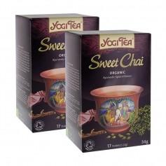 2 x Yogi Tea Sweet Chai -tee, luomu