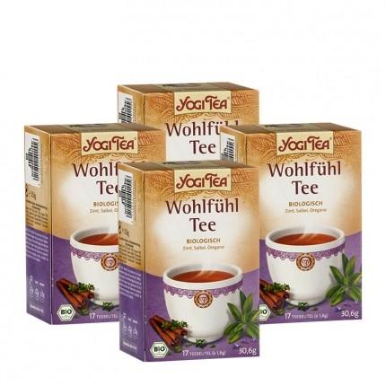 Yogi Tea Wohlfühl Tee, Filterbeutel Doppelpack