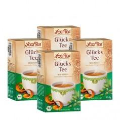 Yogi Tea Glücks Tee Bio, Filterbeutel Doppelpack