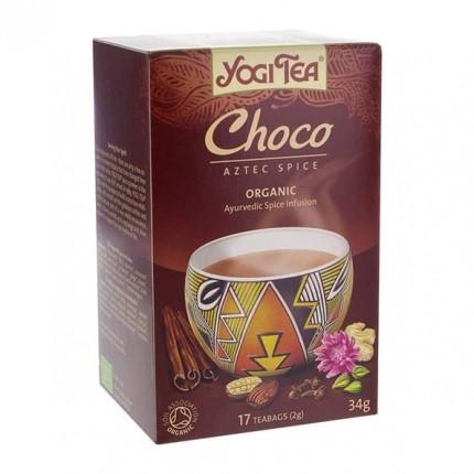 Yogi Tea, Thé Choco, sachets, lot de 2