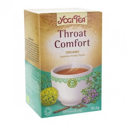 2 x Yogi Tea Throat Comfort