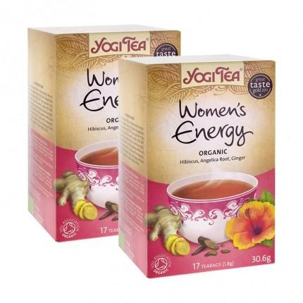 2 x Yogi Tea Women's Energy