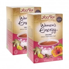 2 x Yogi Tea Women's Energy -tee