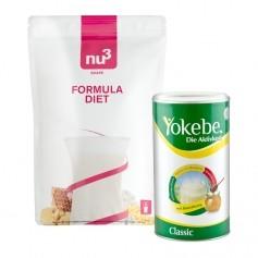 Yokebe Aktivkost Classic & nu3 Formula Diet