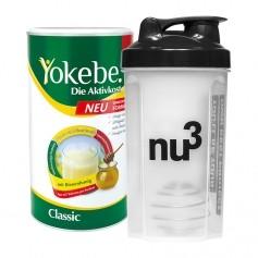 Yokebe Aktivkost Classic nu3-Starterpaket, Pulver