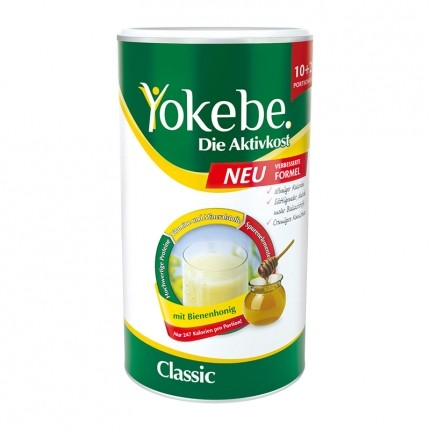Yokebe Aktiv Paket: Doppelpack Aktivkost + Basica Direkt